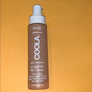 Coola BB cream light Foundation organic light/ med
